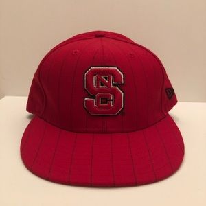 NEW ERA 59 FIFTY NC State Fitted Hat (7 1/2)